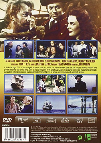 Botany Bay (1952) - Region Free PAL Import, plays in English without subtitles