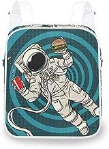 NIKIVIVI Astronaut Guitar Rock Star Cartoon CosmonautConvertible Rucksack