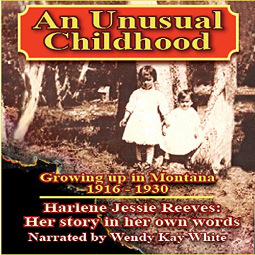 An Unusual Childhood audiobook cover art