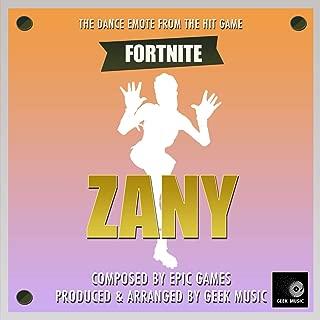 Fortnite Battle Royale - Zany - Dance Emote