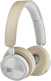 Bang & Olufsen 1645144 Beoplay H8i Wireless Bluetooth On-Ear Headphones with Active Noise Cancellation (ANC), Transparency mode and Microphone - Natural