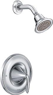 Moen T2132 Eva Posi-Temp Shower Trim Kit, Valve Required, Chrome