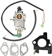 Mannial Carburetor Carb fit Honda GX240 8HP GX270 9HP GX340 11HP GX390 13HP Generator 182 188 Engine Motor 16100-Z5L-F11 with Insulator Spacer Gaskets Fuel Line