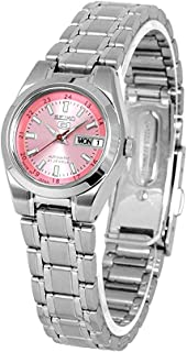 SEIKO Womens Automatic Watch, Analog Display and Stainless Steel Strap SYMH27J1