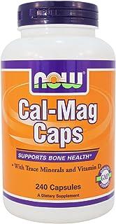 NOW Foods - Calcium & Magnesium 240 softgels
