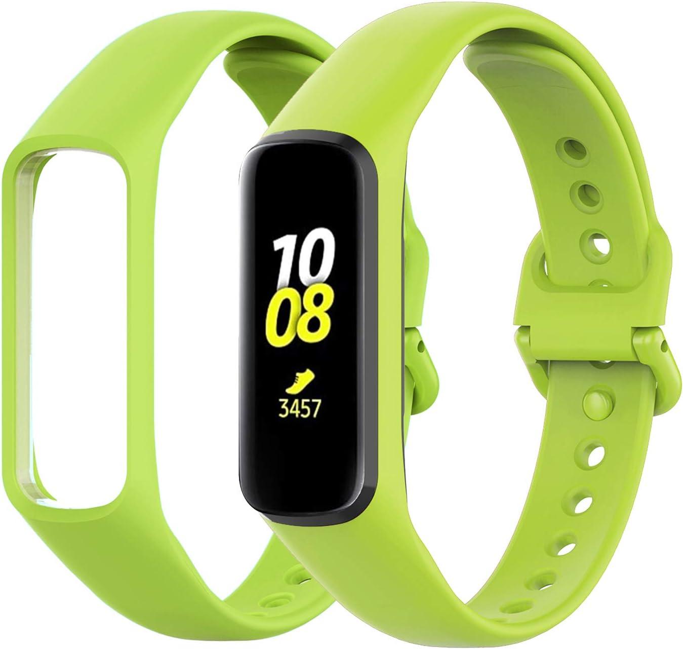 Malla Para Samsung Galaxy Fit 2 - Verde Lima