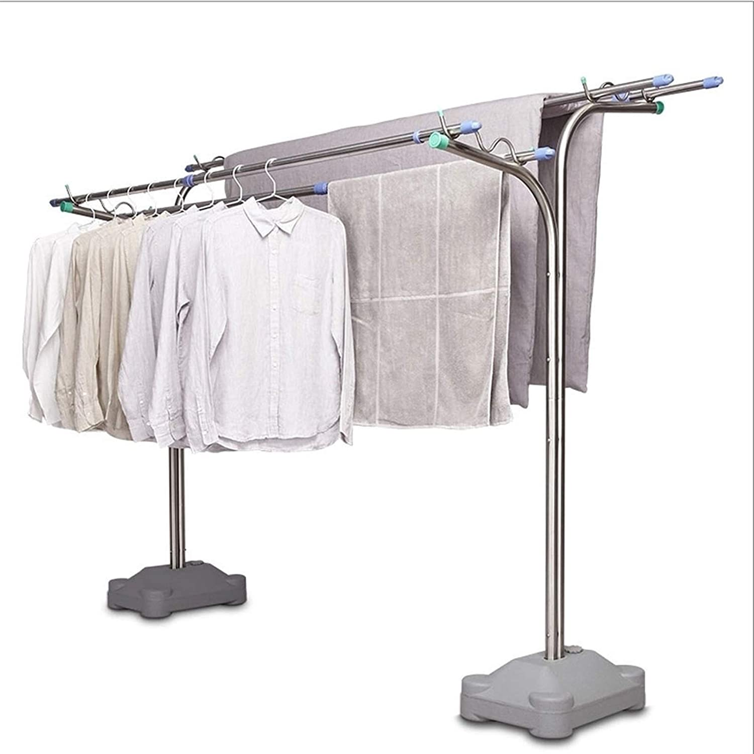 XIAOQIU Clothes Drying Rack Stainless for Steel Laundry Special sale item OFFicial store