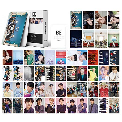 BTS LOMO Cards 54Pcs BTS Map of The Soul 7 Card BTS BE Tarjeta de álbum BANTAN Boys...
