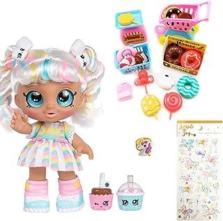 "Kindi Kids Snack Time Friends, Pre-School 10"" Doll - Marsha Mello - Simple Joy Toys Gift Set"