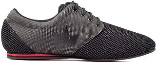 Zapatos de Baile Latino Hombre Daniel Sport EVO Black - Bailar Bachata y Salsa