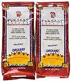 Puroast Low Acid Coffee Hazelnut Flavored Coffee Drip Grind, 0.75-Pound Bag