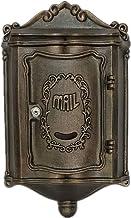 Brievenbus mailbox - gietijzer, Europese retro-smeedijzer-Villa buitenshuis aan de muur gemonteerde Mailbox Mailbox, gesch...