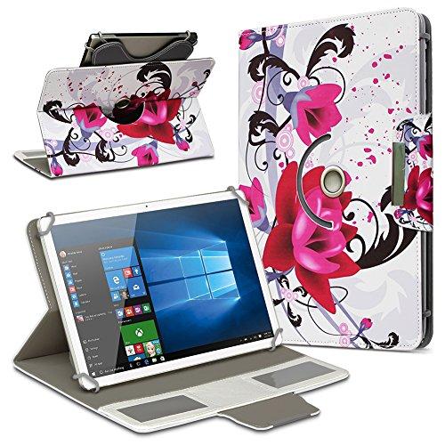 UC-Express Universal Tablet Schutz Hülle 10-10.1 Zoll Tasche Schutzhülle Motiv Hülle Cover, Motiv:Motiv 3, Tablet Modell für:ARCHOS 101c Platinum