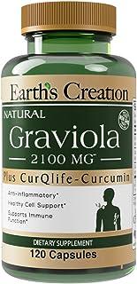 Graviola-Soursop 2100 mg with Curqlife 120 Capsules