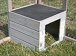 Enclos pliable en bois pour tortue RUN OUT LUXE #2