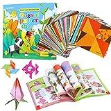 Kit de origami para niños de BESLIME C para origami, contiene 192 hermosos Origami y un tutorial diseñado especialmente para los niños principiantes y las guías escolares.