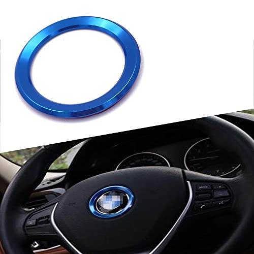 Gomass Car Leather Steering Wheel Covers Universal 15 Inch Breathable Anti-slip Wheel Wrap Black with Grey Line 801-002