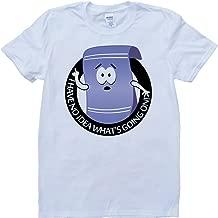 Towelie South Park Funny White, Custom Made T-Shirt