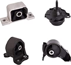 Ashimori Compatible With Honda CRV CR-V 2.4L 2002-2006 Auto AT Transmission Engine Motor Mount Set A6596 A6597 A4504 A4506