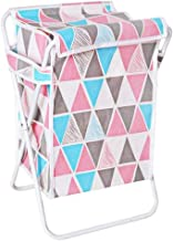 SHYPT Laundry Basket ,Clothes Hamper Organizer Sorter Storage Foldable Dark & Light Hampers with Aluminum Frame Washing Di...