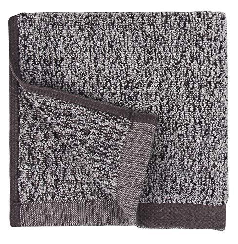 Everplush Diamond Jacquard Bath Linens Wash Cloth, 6 Pack, 13