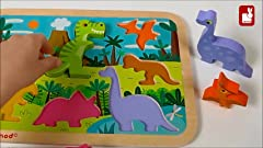 Amazon.com: Joqutoys Wooden Alphabet Puzzle Toddlers ...