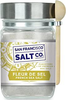 8 oz. Chef's Jar - Fleur de Sel de Guérande by San Francisco Salt Company