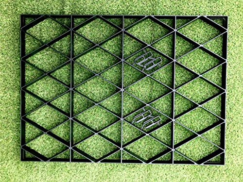 10x8 GARDEN SHED BASE GRID = FULL ECO KIT 3.05m x 2.55m + HEAVY DUTY MEMBRANE 8x10 PLASTIC ECO PAVING BASES & DRIVEWAY GRIDS
