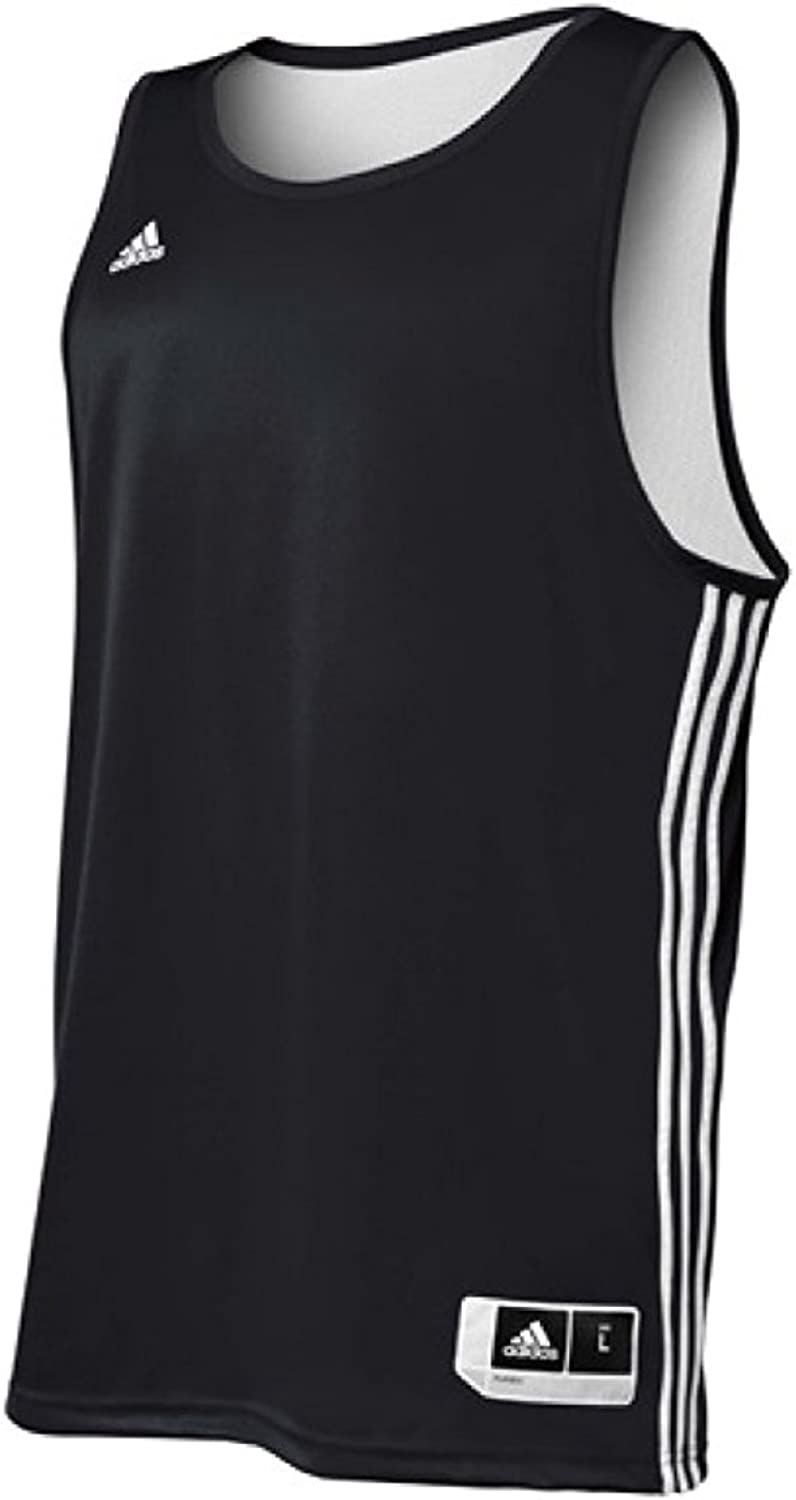 Adidas Mens Reversible Basketball Practice Jersey 2XLT Maroon/White