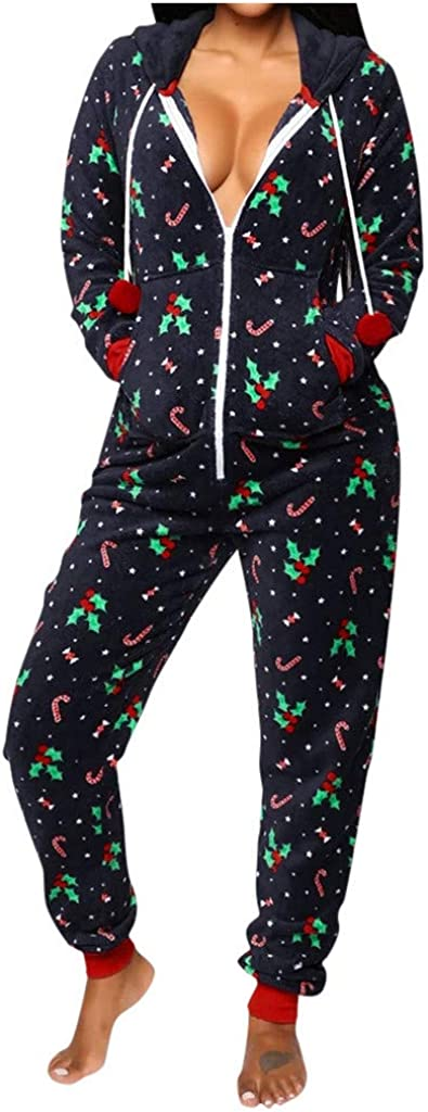 New product type Bolayu Women Sexy Family Santa Christmas F Onesies Adult Max 58% OFF Pajamas