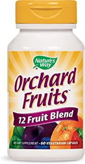 Nature's Way Orchard Fruits 12 Fruit Blend, 60 Vcaps
