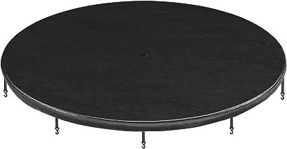 SONGMICS Afdekking voor trampoline, afdekzeil, met waterafvoergaten, weerbestendig zeil, bescherming tegen zon, bladeren, ...