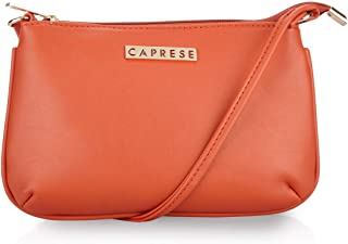 Caprese Shyla Women's Sling Bag (Orange)