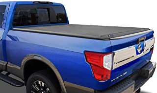 Tyger Auto T3 Soft Tri-Fold Truck Bed Tonneau Cover Compatible with 2017-2021 Nissan..