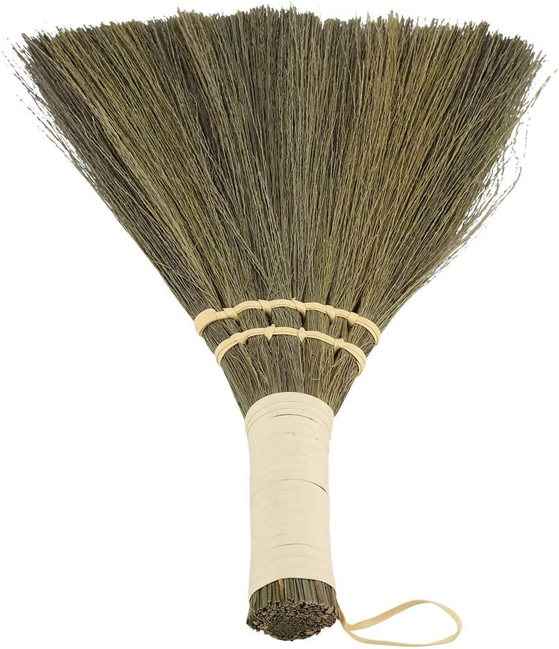 Mini Straw Broom Braided Househ Fees free!! Little Lowest price challenge Small