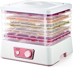 Déshydrateur électrique à 5 Plateaux, 35~70 ℃ Réglage de la température Max 12h Machine à sécher Les Fruits avec fenêtre d...