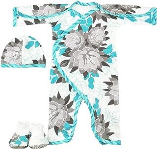 Perfectly Preemie Boys & Girls Long-Sleeve NIC-Jumpsuit - NICU Friendly