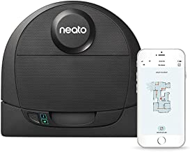 Neato Robotics D4 Laser Guided Smart Robot Vacuum - Wi-Fi Connected, Ideal for Carpets, Hard Floors and Pet Hair, Works wi...
