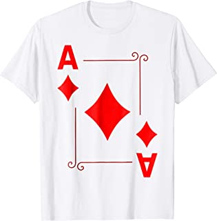Ace of Diamond Deck of Cards Funny T-Shirt Halloween Costume