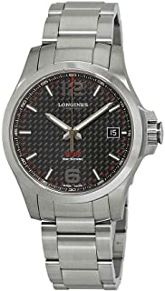Longines Conquest V.H.P. Black Dial Men's Watch L37164666