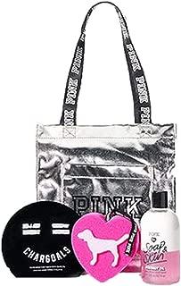 Victoria's Secret Soap & Skin Chargoals Mask Bath Sponge Gift Party Lot 3 Pieces