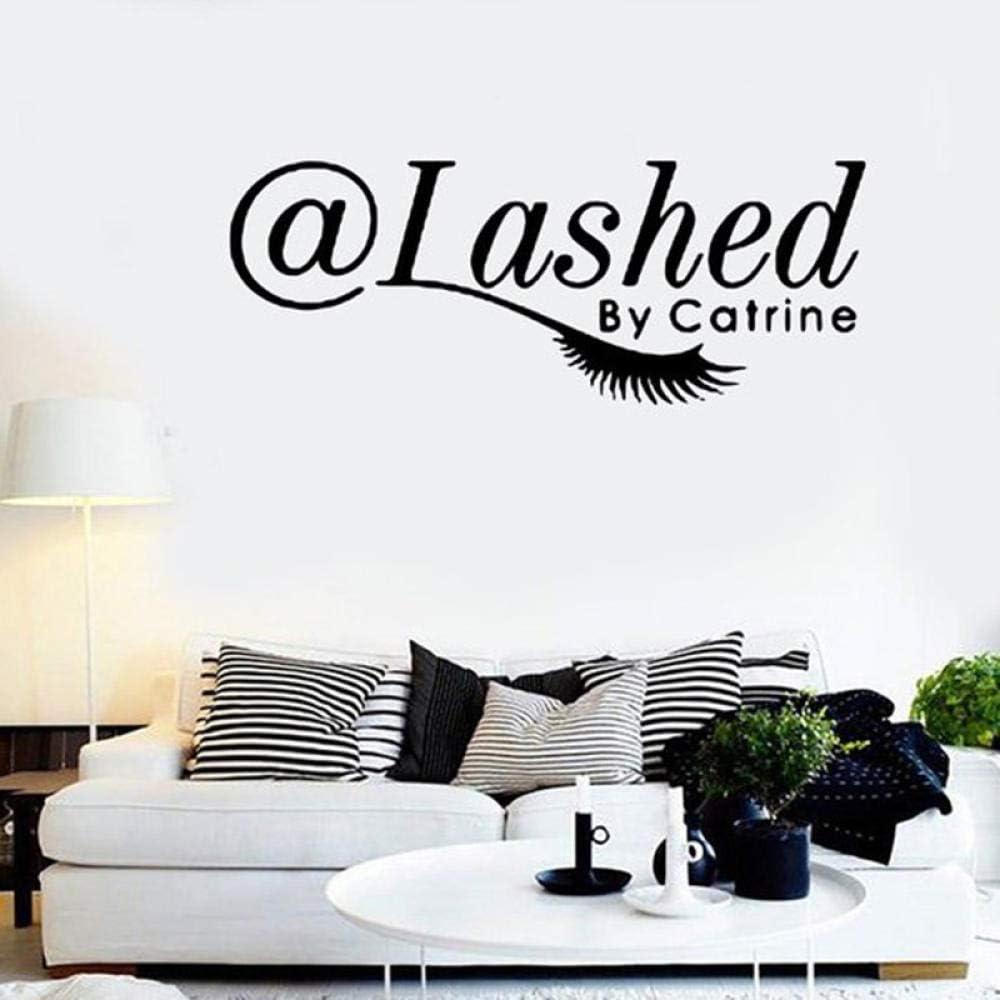 2021 Ytsmsyy Eyelashes Eye Wall Decal New sales Personalized Salon Decor Beauty