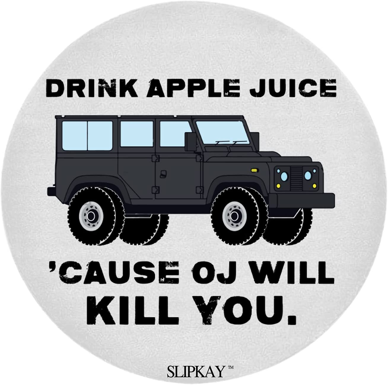 Drink Apple Juice Round Rug At the price of Genuine Free Shipping surprise