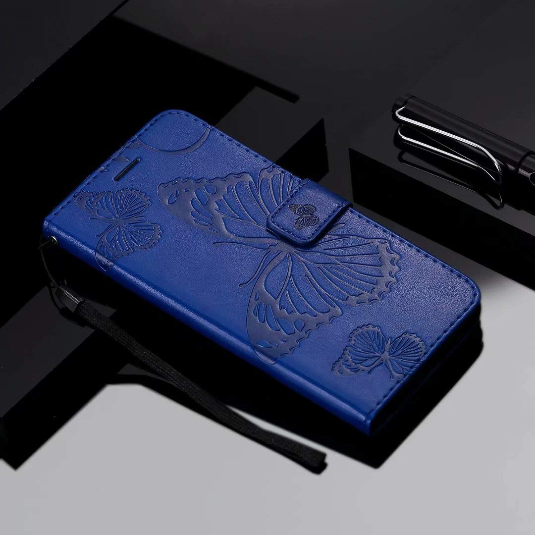 /'Peacock Butterfly/' Business Card Holder CH00020119 Credit Card Wallet