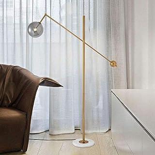 Lampadaire Durable Lampadaire Lampadaire Abat-Jour en Verre Lampadaire Salon Créatif Lampadaire Art Chevet Chambre Nordic ...