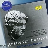 Brahms: Ein Deutsches Requiem by JANOWITZ / WACHTER / BERLIN PHIL ORCH / KARAJAN (2002-02-01)