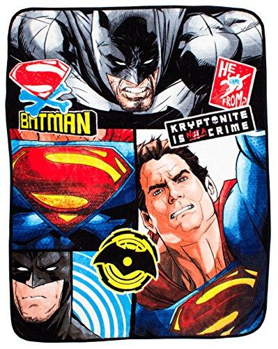 Batman v Superman Super soffice Coperta in Pile Clash–Grande Stampa