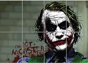 BATMAN JOKER IM NOT A MONSTER CULT CLASSIC MOVIE FILM COMIC BOOK GIANT WALL POSTER ART PRINT B1062