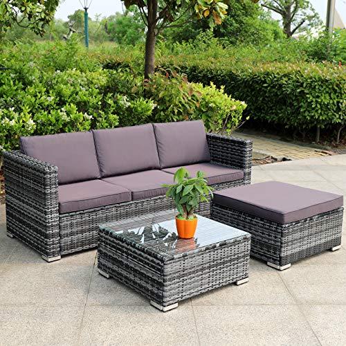 Hansson Polyrattan Gartenmöbel Lounge S auf schoene-moebel-kaufen.de ansehen