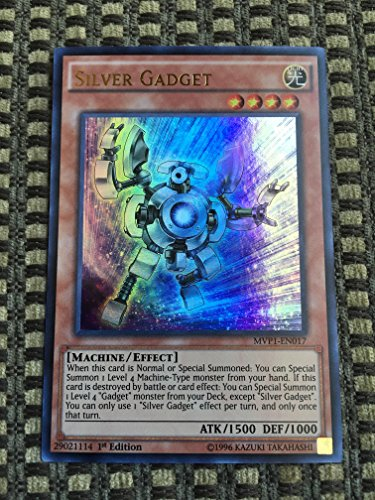 Yu-Gi-Oh! - Silver Gadget (MVP1-EN017) - The Dark Side of Dimensions Movie Pack - 1st Edition - Ultra Rare by Yu-Gi-Oh!